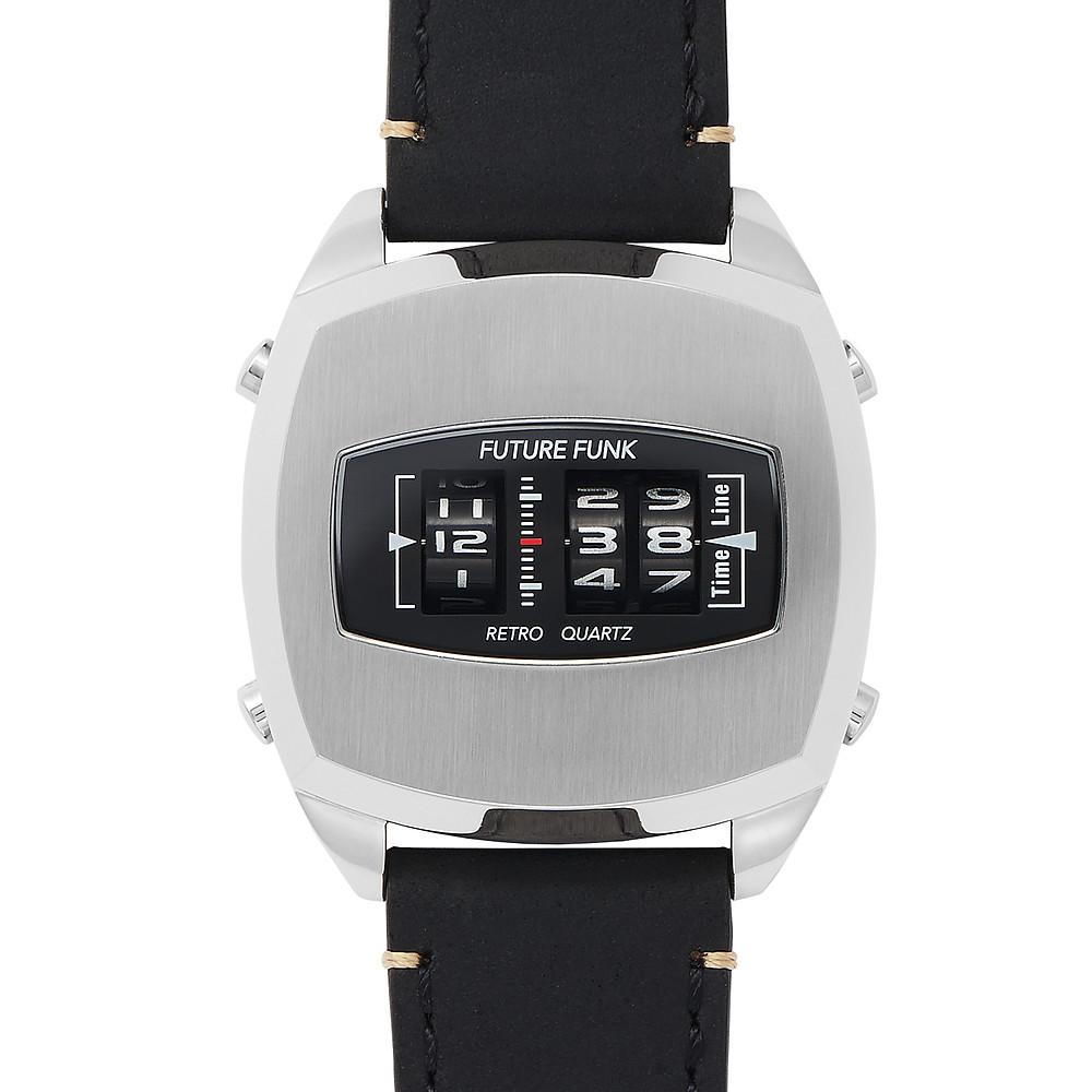 Future Funk 直立迴轉石英錶