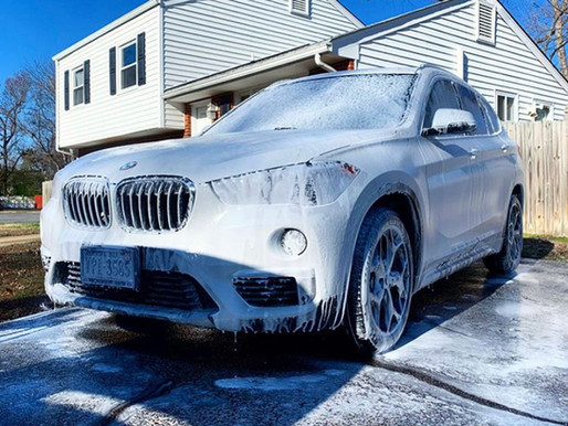 Whats included in the Car Detailing - Exterior wash