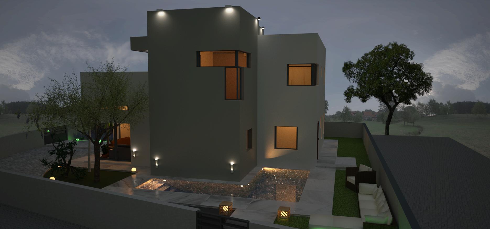 בית פרטי סגנון מודרני