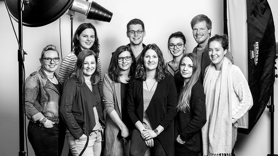 10 Vollzeitlergänger sind seit Januar am Photo+Medienforum Kiel