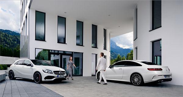 Automobilfotografie Jan Schneider. Mode. Mercedes. Fotografenmeister werden in Kiel. Photo+Medienforum Kiel