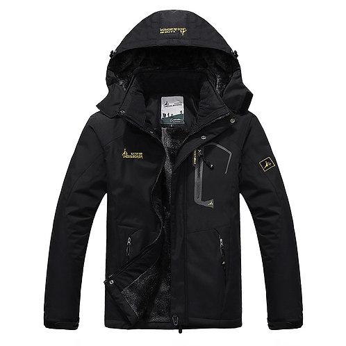 Men's Winter Inner Fleece Waterproof Jacket
