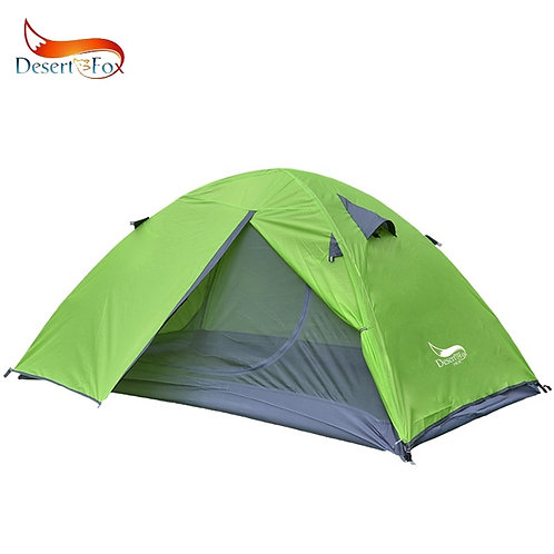 Backpacking Tent, 2 Person Aluminum Pole Lightweight Double Layer