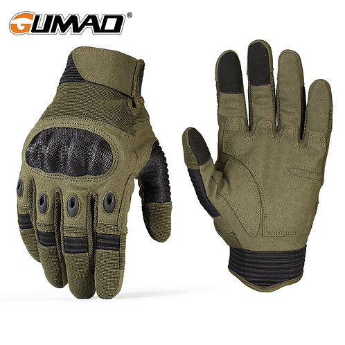 Hard Shell Tactical Glove Touch Screen - Military