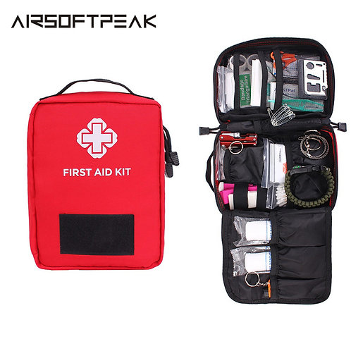 First Aid Pouch | Survival Kit Medical Nylon Bag