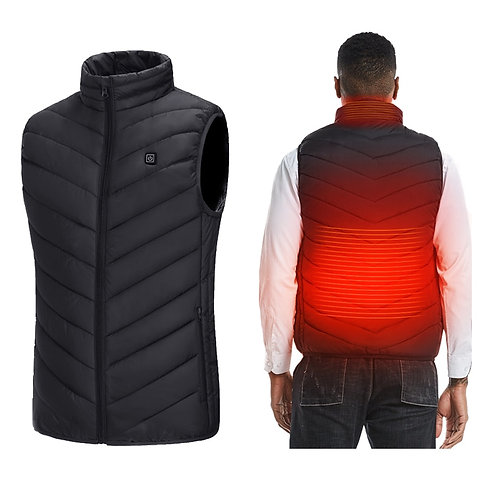 Men's / Women's Smart Heating Vest Winter USB Electrical Heated Jackets