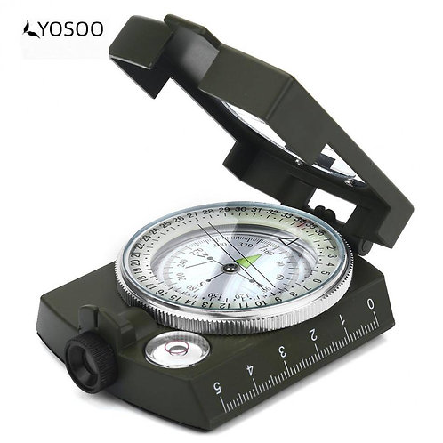 Survival Compass Military Sighting - Waterproof