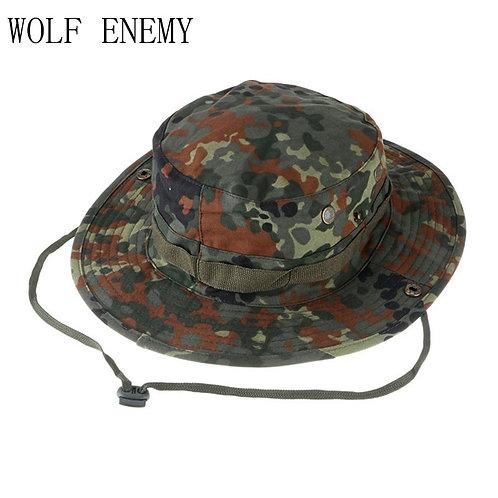Camo Tactical Round Cotton Cap