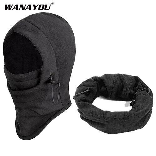 Winter Warm Thermal Fleece Face Mask - Windproof