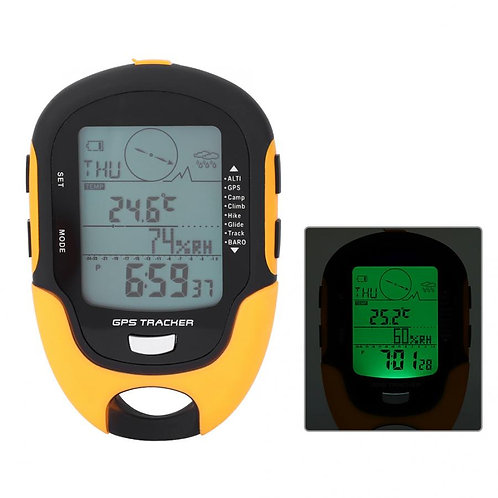Digital Handheld GPS Navigation Tracker, Altimeter, Barometer, Compass, Locator