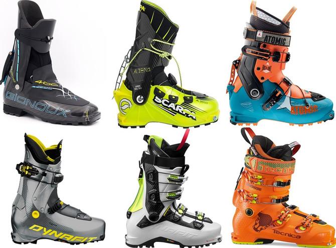 Sprzęt do uprawiania narciarstwa wysokogórskiego, skialpinizmu i narciarstwa tourowego. Część 2- but