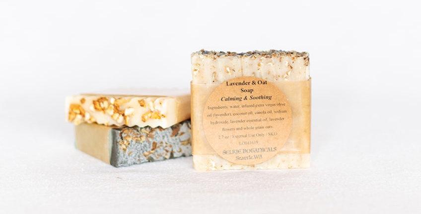 VEGAN Soap - Lavender & Oat