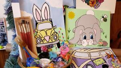 Easter Basket Paint Kit - your choice of design