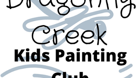 Kids Monthly Painting Club Subscription