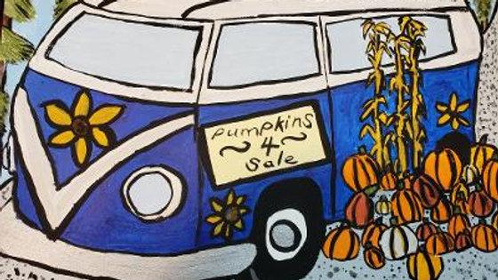 Pumpkins 4 Sale Paint Kit