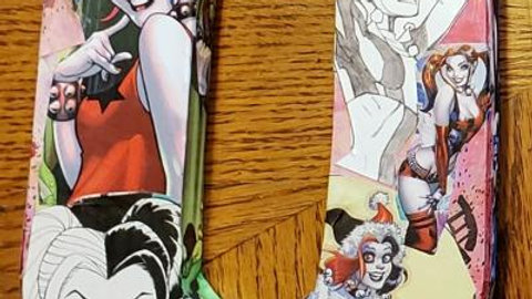 Harley Quinn wooden comic book letter -O
