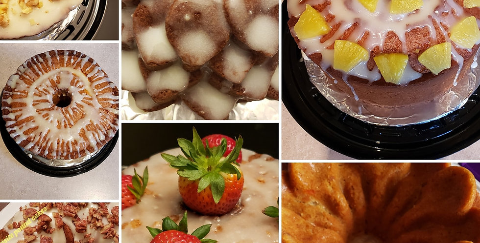 Fruit Flavored Pound Cakes