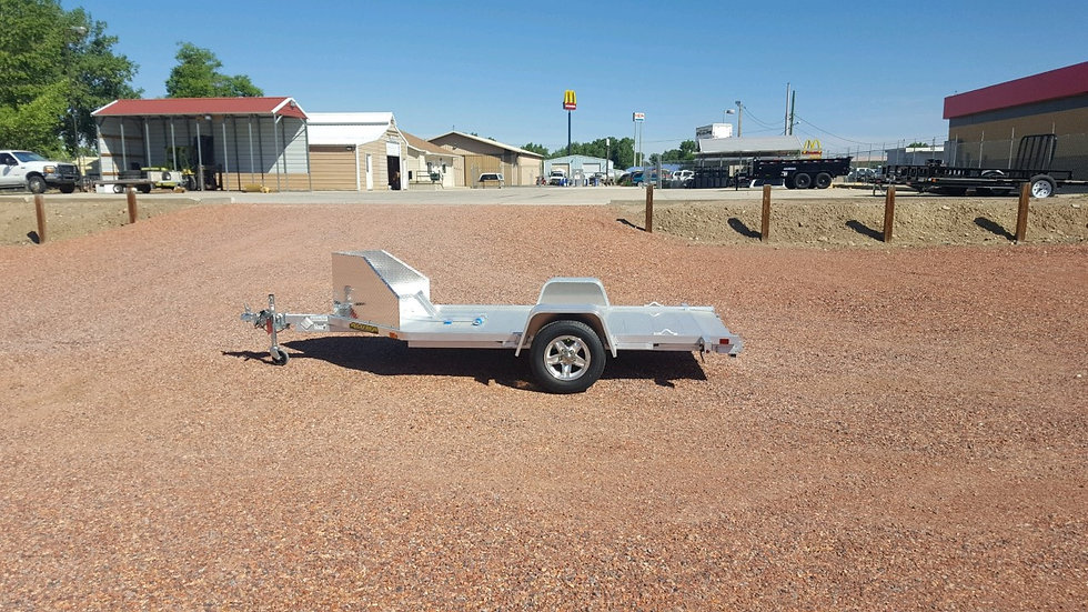 10' SINGE MOTORCYCLE TRAILER