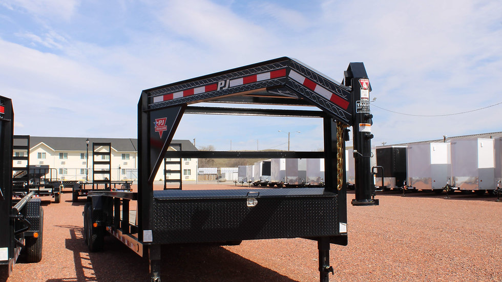 24' GN SQUARE PIPETOP TRAILER