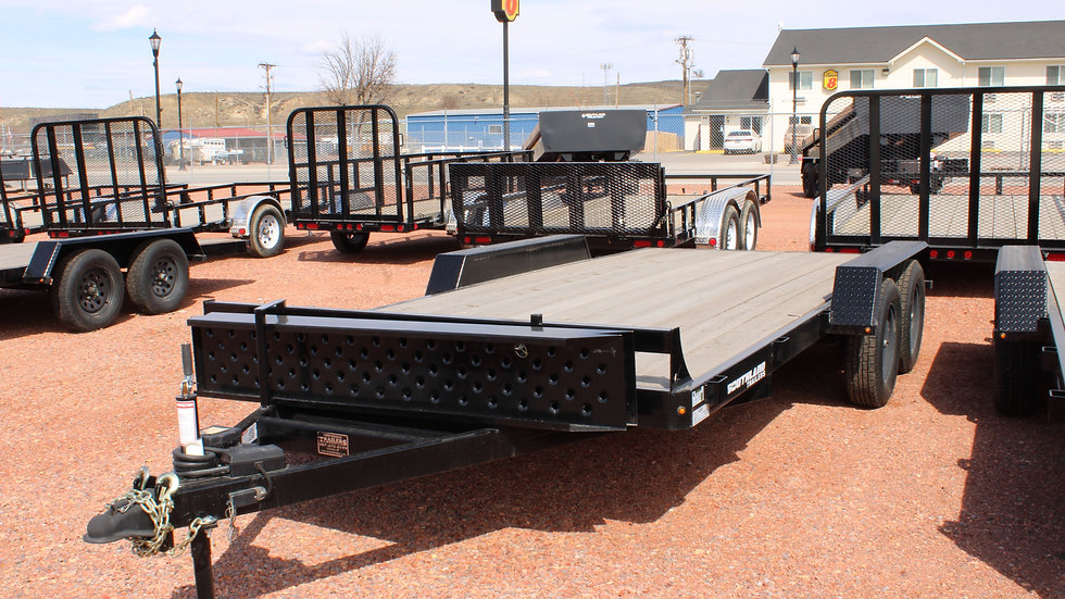 16' FLATBED STRAIGHT DECK