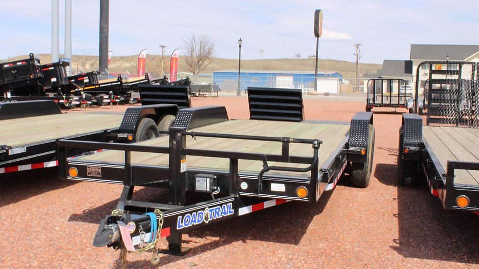 83 x 20 equipment trailer