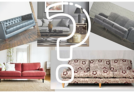 3 THE EASY WAY: How to pick the right sofa for your space.