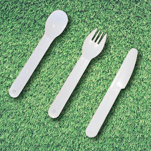 Spoon, Fork, Knife Set