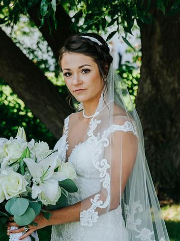 Tasha and Brynn Wedding-Bride and Groom-