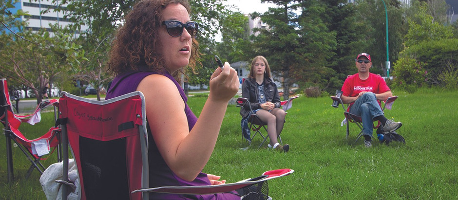 L'année 2020 vue par la mairesse de Yellowknife