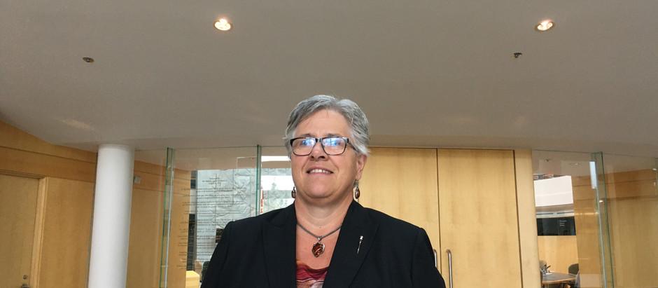 Julie Green nommée au conseil des ministres