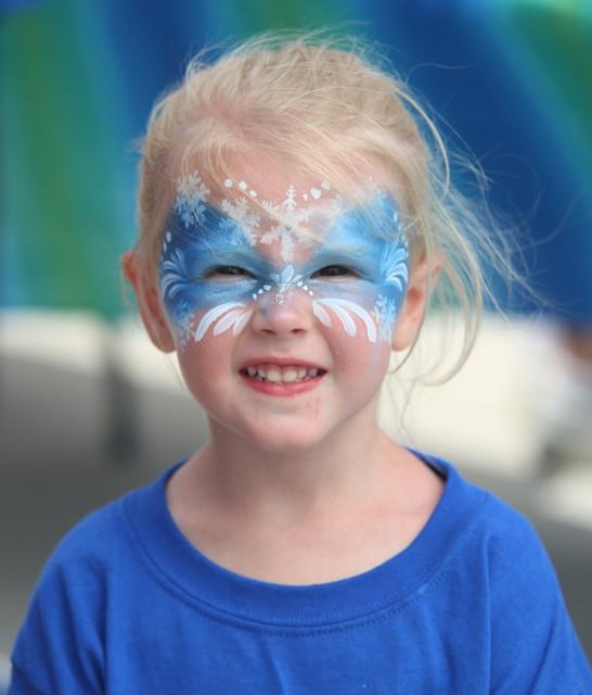 Face Painting Paradise Creek Festival