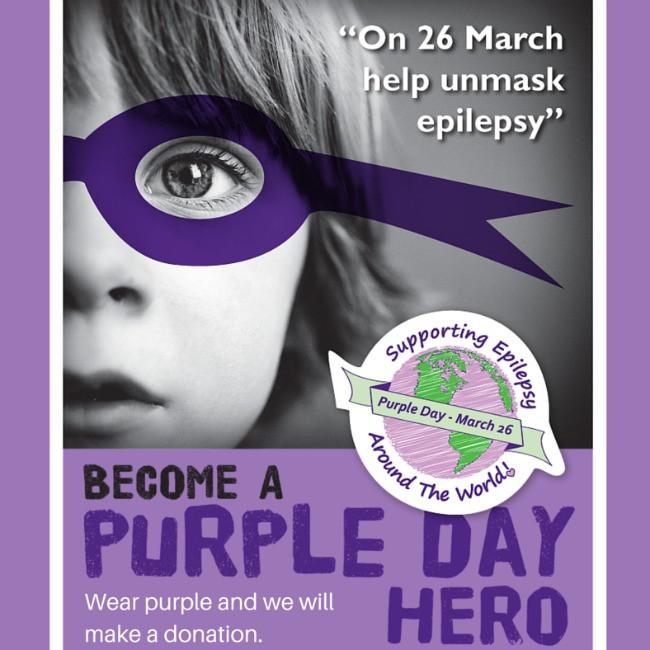 Wear Purple for Epilepsy Awareness