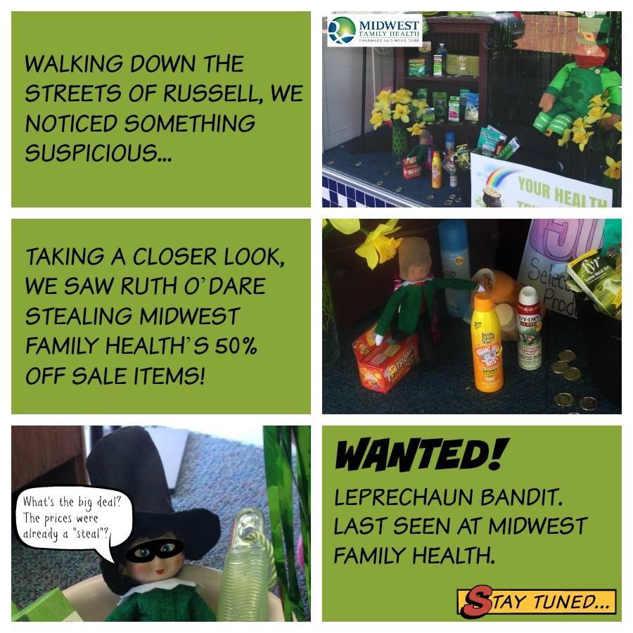 Leprechaun on the Shelf - Robbery