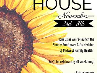 Simply Sunflower Open House Next Week