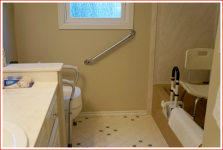 Fall Prevention Bathroom Mobility Aids