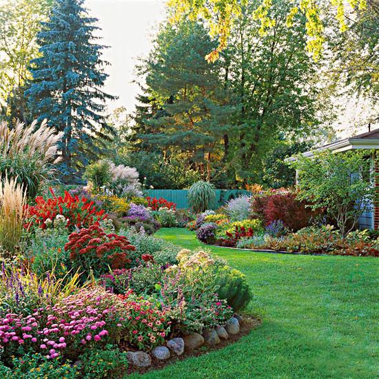 Creating a colourful garden space ! By Tina !
