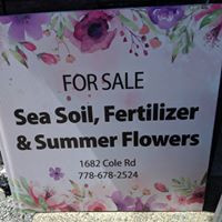 Fertilizer sales, Sea Soil and flowers !