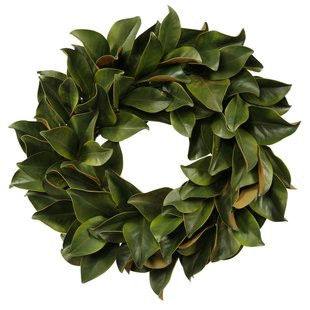 Try a different homeade wreath this year ! Magnolia ??