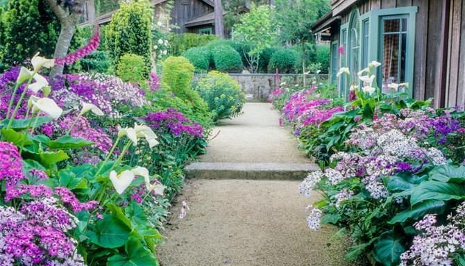 How to match your garden with your house ?