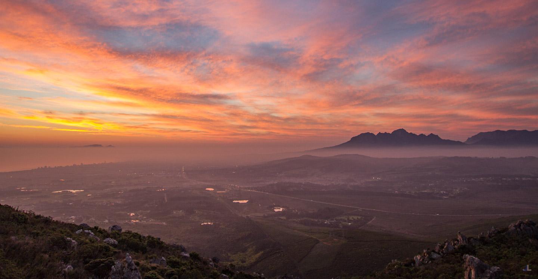 Distant Cape Town