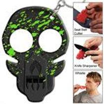 Zombie Emergency Keychain