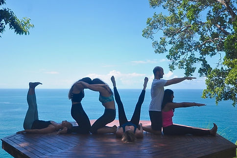 Bienestar yoga classes and yoga teacher trainings in Uvita, Costa Rica.