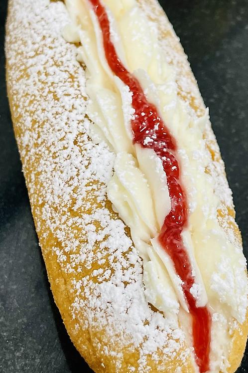 Long American doughnut