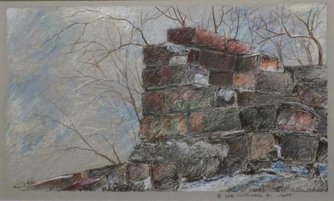 Fallen Chimney