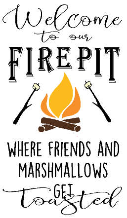 Welcome Firepit