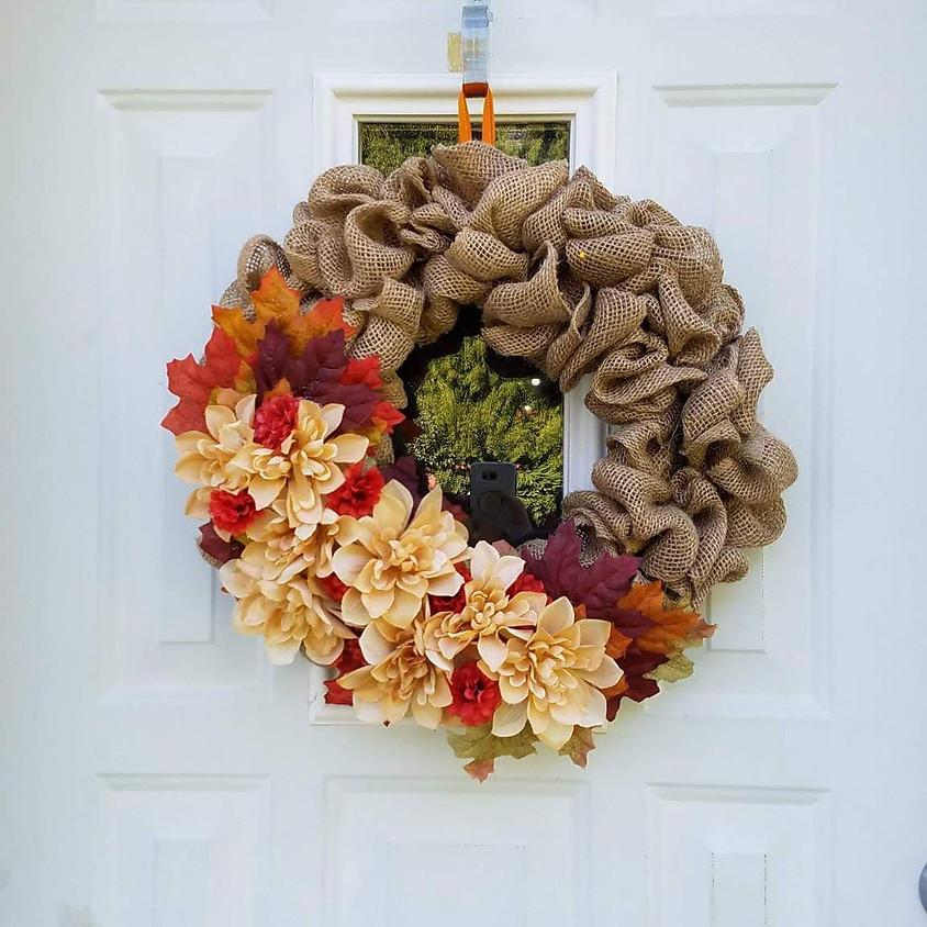 Burlap Wreath DIY Class