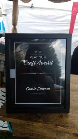 Ashley for the Arts Award