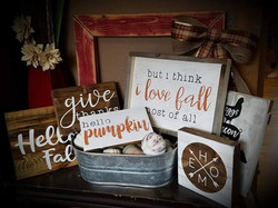 2018 Fall Signs