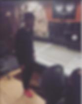 Austin Martin In Paramount Recording Studios