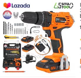 Cordless battery drill